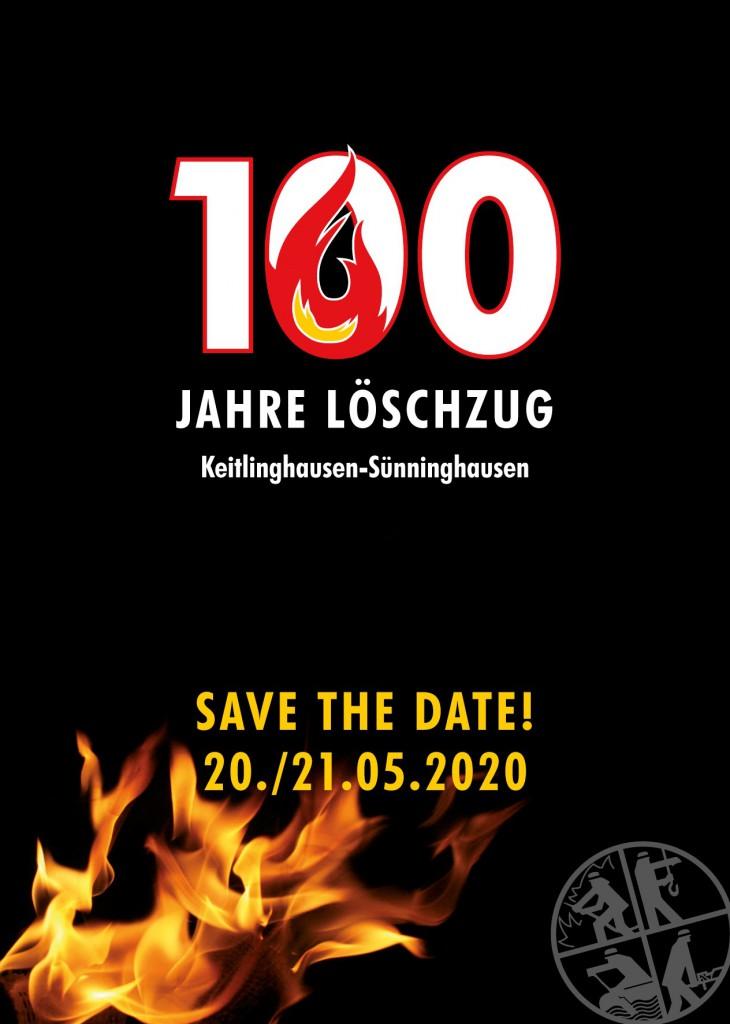 100 Jahre Löschzug Keitlinghausen-Sünninghausen vom 20. bis zum 21. Mai 2020